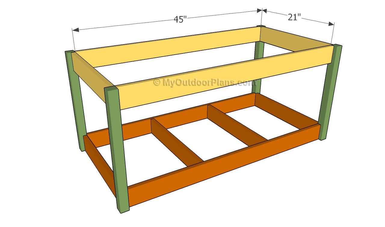 build a toy box free plans | Quick Woodworking Projects