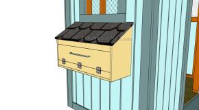 Chicken Nest Box Plans