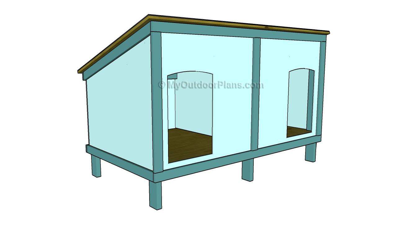 A frame Dog House Plans MyOutdoorPlans Free