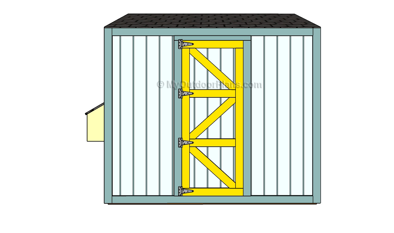 Chicken Coop Door Plans