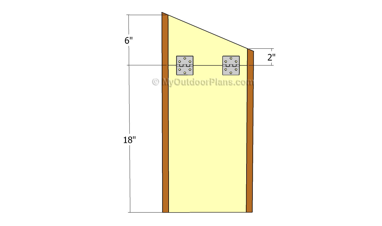Duck house plans free outdoor plans diy shed wooden for Duck slide plans