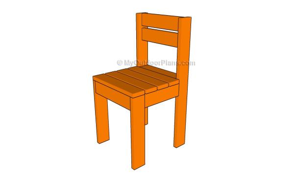 Kids chair plans