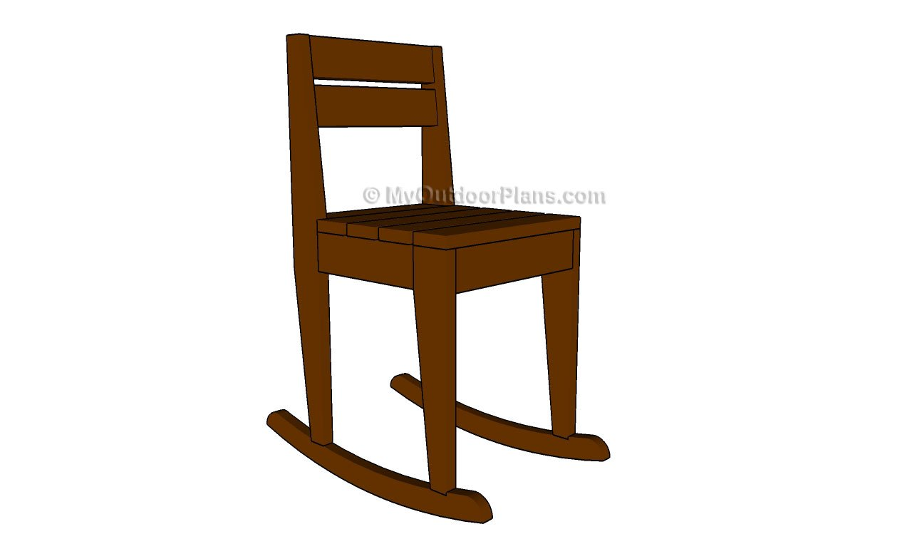 Swell Kids Rocking Chair Plans Myoutdoorplans Free Woodworking Interior Design Ideas Clesiryabchikinfo