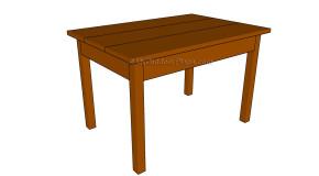 Kids Table Plans
