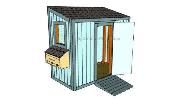 Small chicekn coop plans