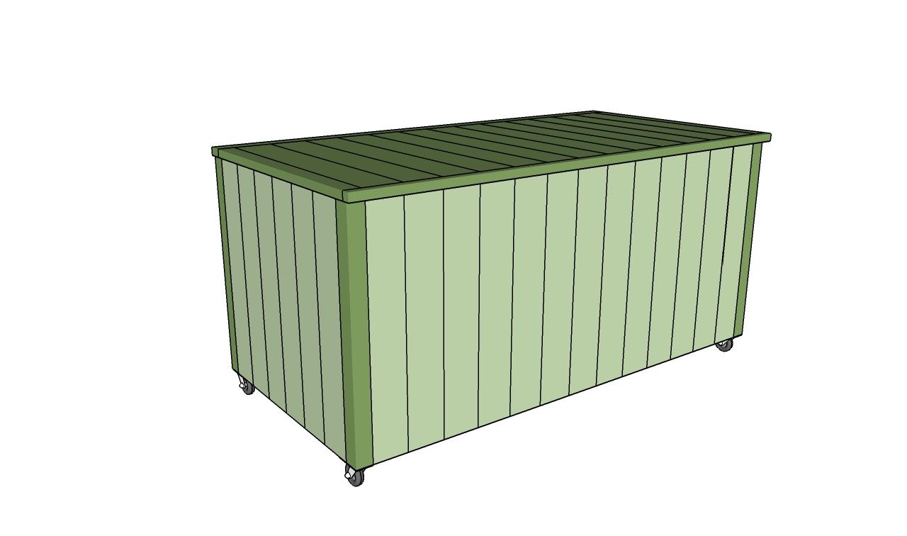 Outdoor Storage Box Plans | MyOutdoorPlans | Free ...