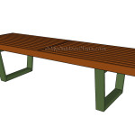 Wood bench plans