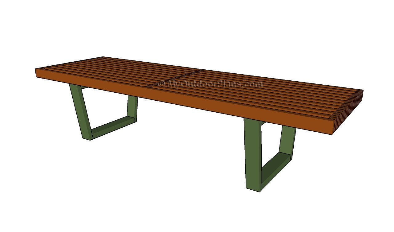 Wood bench plans free outdoor diy shed wooden
