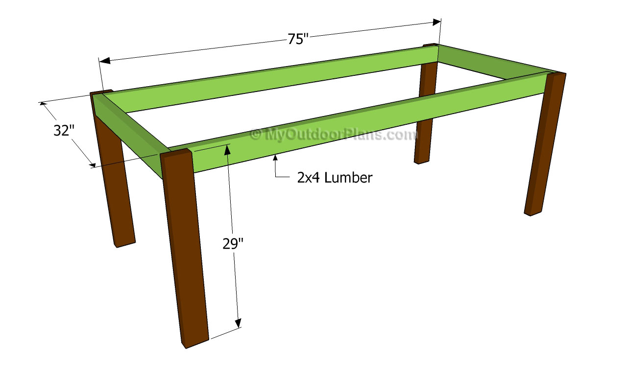 Farmhouse Table Plans Free