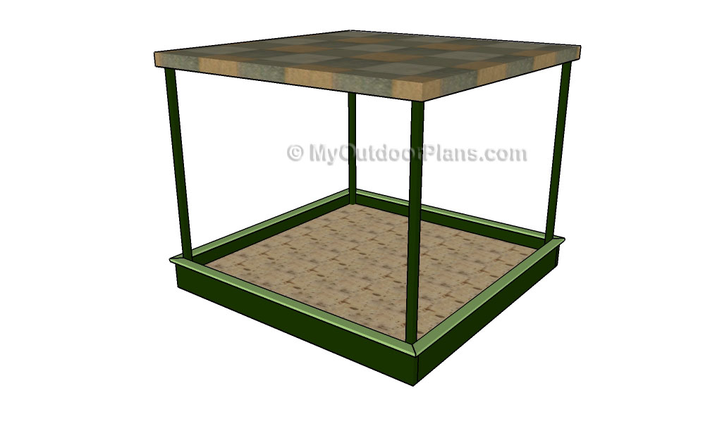 How To Build A Sandbox Myoutdoorplans Free Woodworking