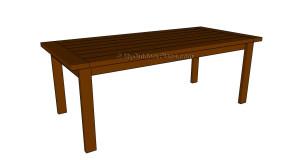 Farmhouse Table Plans