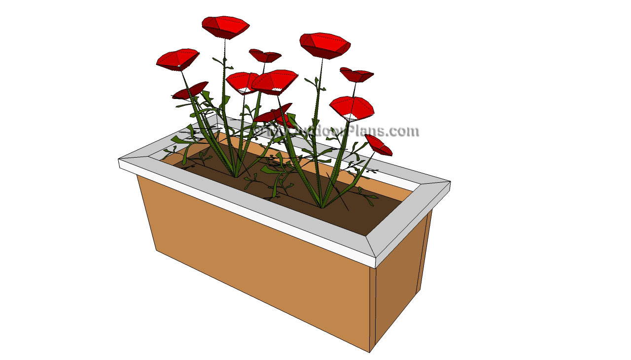 Outdoor planter plans Raised Planter Box Plans Planter Designs
