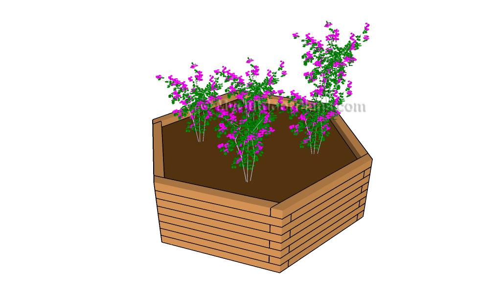 Hexagonal Planter Plans