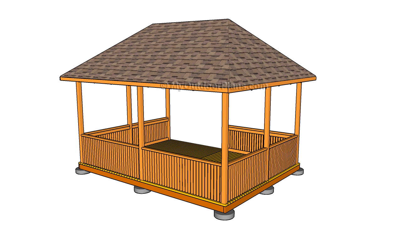Gazebo designs free outdoor plans diy shed wooden for Free cupola blueprints
