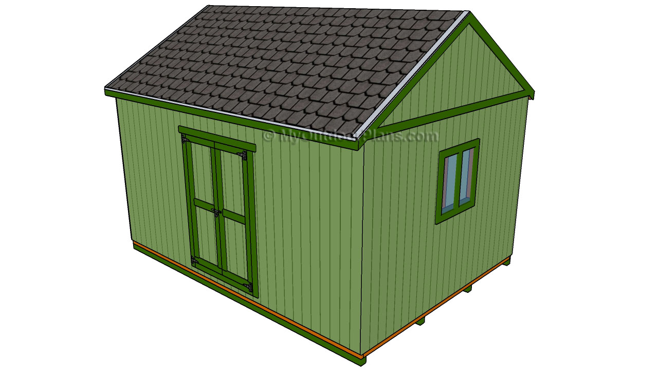 Garden shed designs free outdoor plans diy shed for Large shed plans