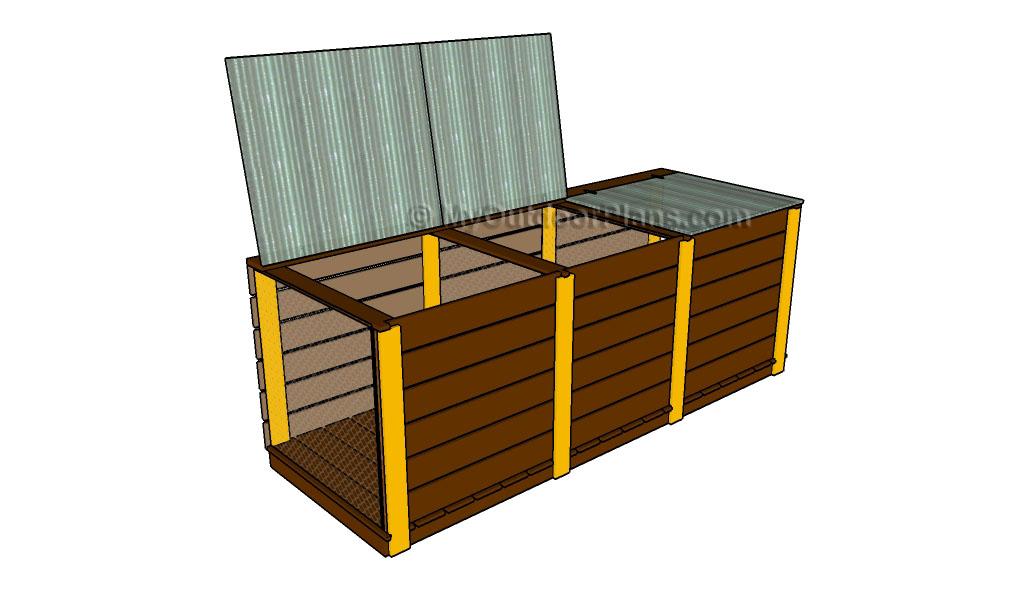 3 Bin Compost Plans