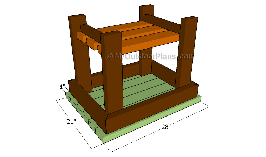 Patio End Table Plans Free Outdoor Plans DIY Shed Wooden Playhouse Bbq