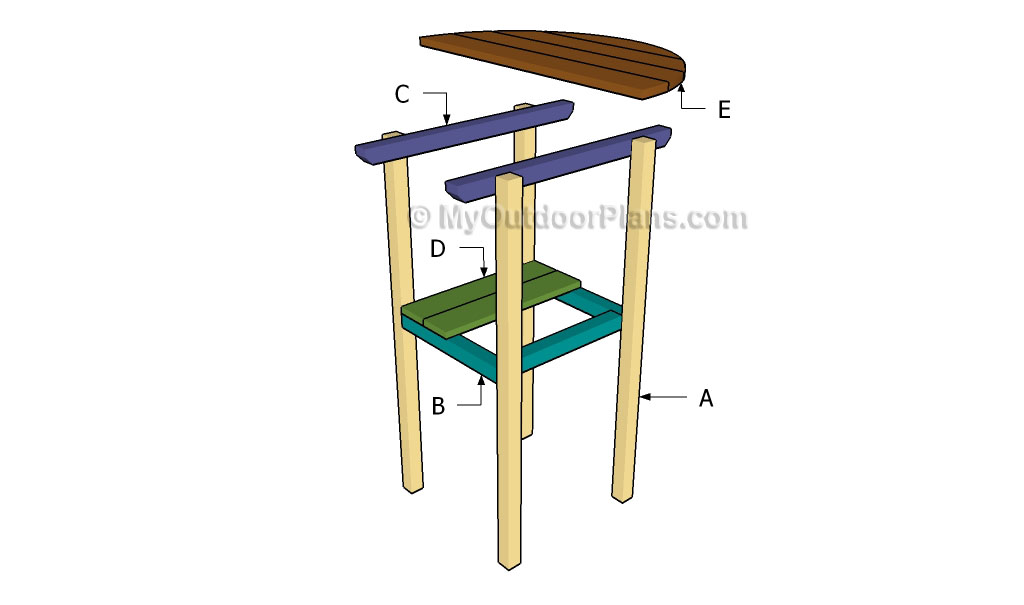 cocktail table plans myoutdoorplans free woodworking