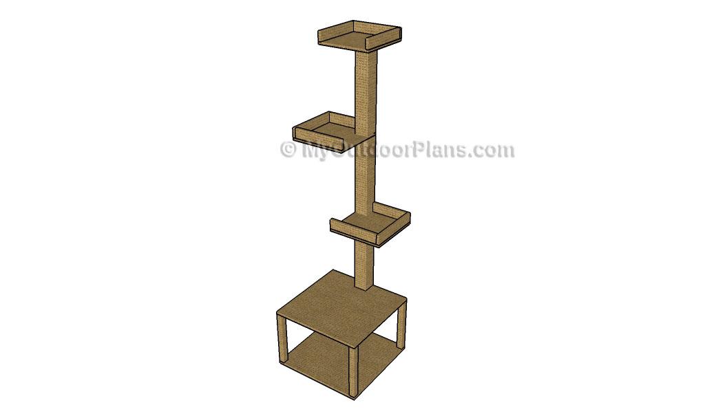 Cat Tower Plans