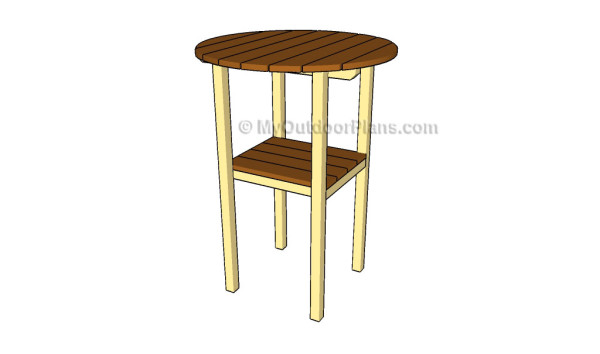 Cocktail table plans myoutdoorplans free woodworking for Cocktail tables diy