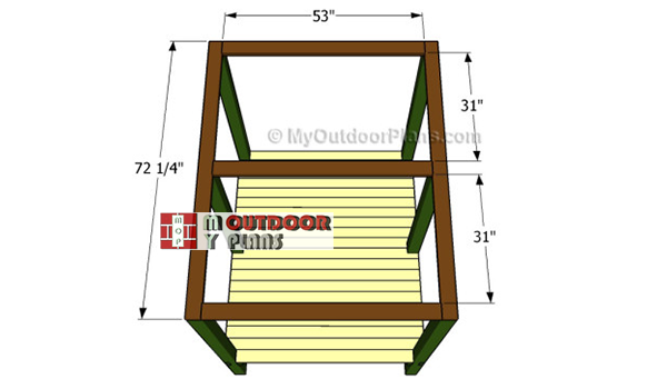 Fitting-the-rafters-to-dog-kennel