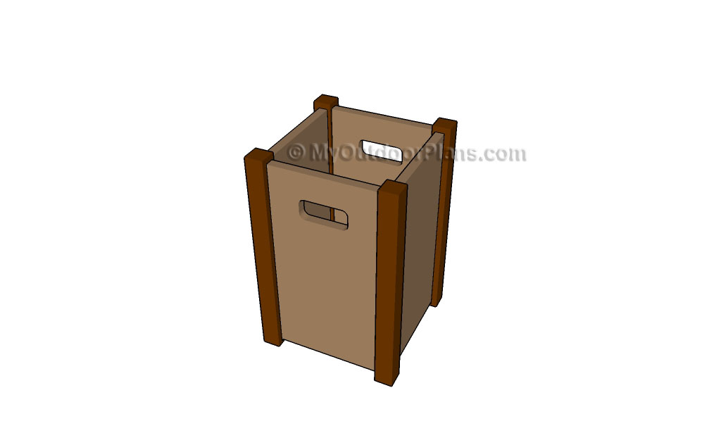 Wooden Trash Bin Plans Myoutdoorplans Free Woodworking And Projects Diy Shed Playhouse Pergola Bbq