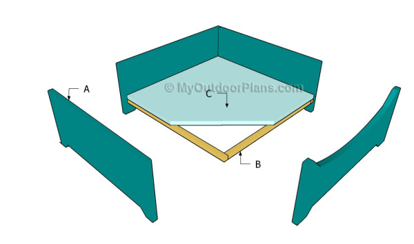 wood plans dog bed