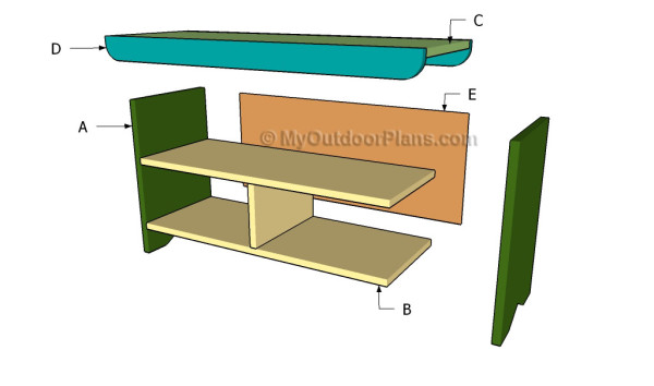 Building a porch bench