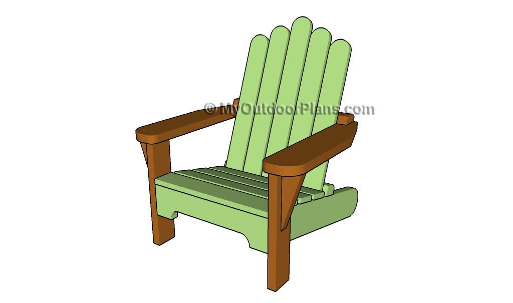 Outdoor Wood Chair Plans ~ Child chair plans free outdoor diy shed wooden