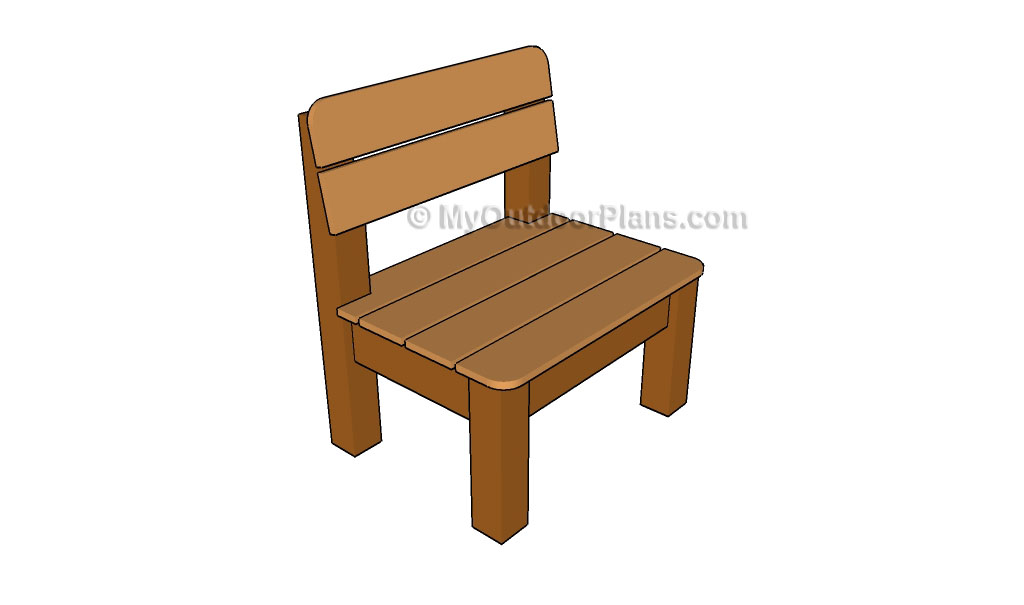 Kids chair plans myoutdoorplans free woodworking plans for Patio furniture designs plans