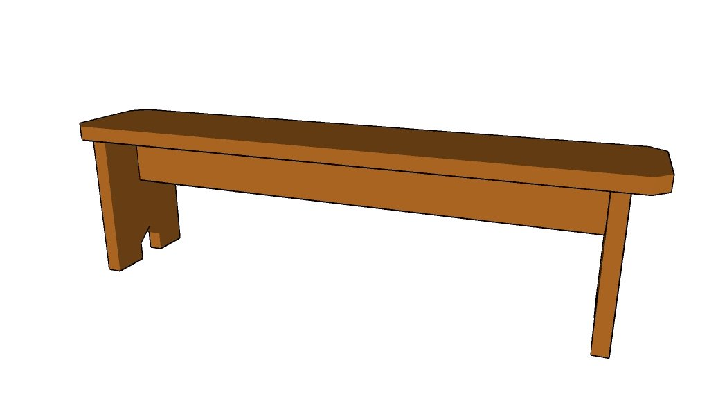 simple wooden bench plans | Discover Woodworking Projects
