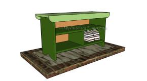 Porch Bench Plans