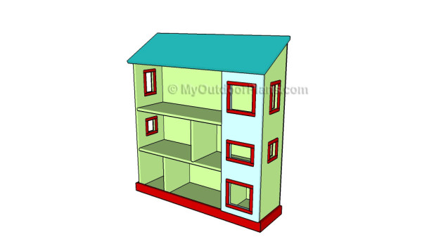 Simple Dollhouse Plans Myoutdoorplans Free Woodworking Plans And