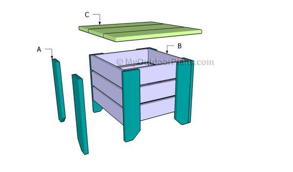 Building a shop stool