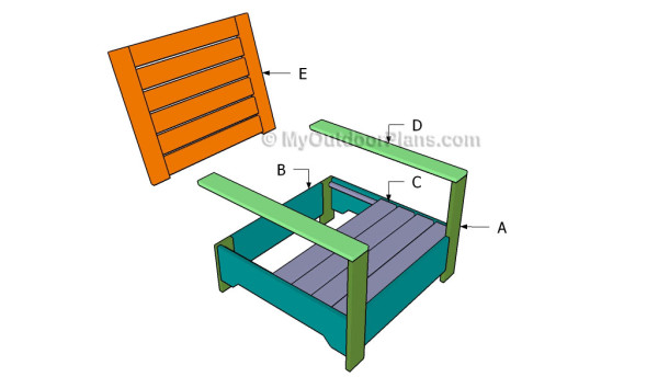Building a wooden chair