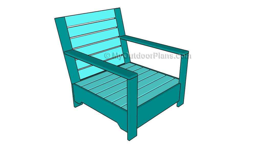 Patio Chair Plans MyOutdoorPlans Free Woodworking Plans And Projects DIY