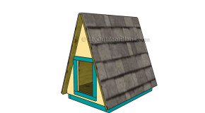 A-frame Dog House Plans