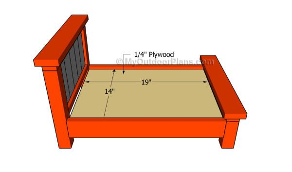 Attaching the mattress support