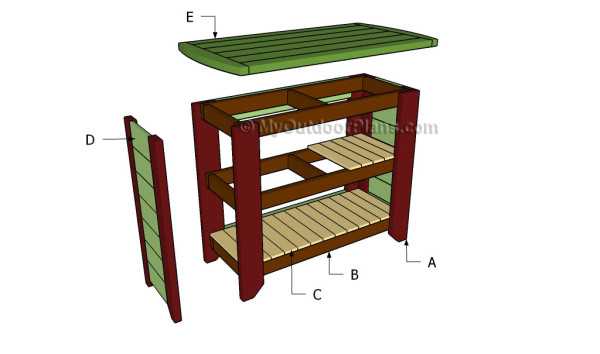 Free Bar Plans Myoutdoorplans Free Woodworking Plans And Projects Diy Shed Wooden