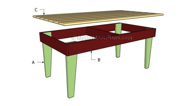 Building a rustic table