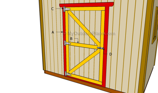 Diy Shed Door Plans Myoutdoorplans Free Woodworking