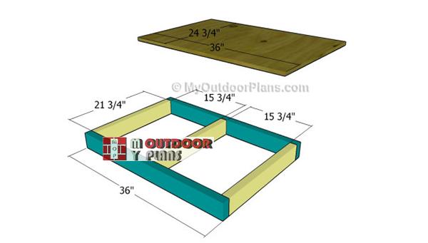 Building-dog-house-floor