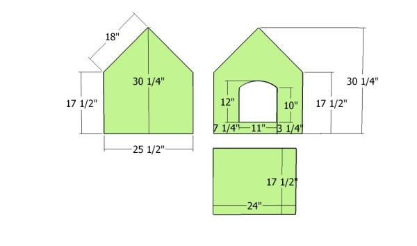 Sheet Plywood Dog House Plans | Best House Design Ideas