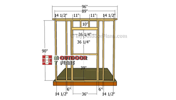 Building-the-window-wall-frame