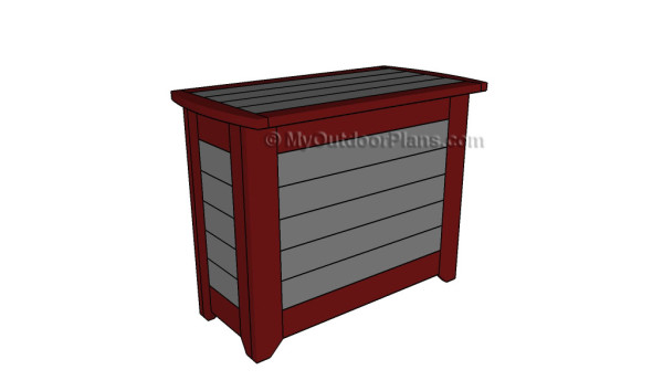 Free Bar Plans | MyOutdoorPlans | Free Woodworking Plans and ...
