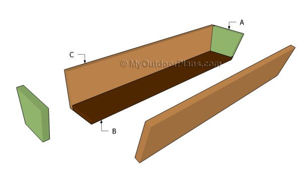 Building a planter box