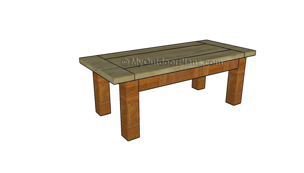 Coffee Table Plans | Free Outdoor Plans - DIY Shed, Wooden Playhouse ...