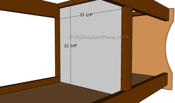 Fitting the splitting wall
