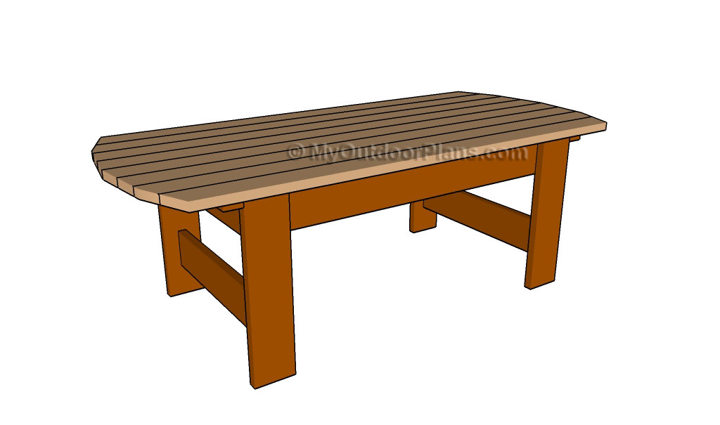 How to Build a Patio Table | Free Outdoor Plans - DIY Shed, Wooden ...