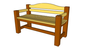 Outdoor Wooden Bench Plans